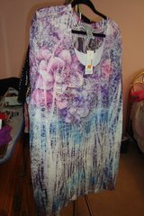 Liliac w/sequins Blouse  sz 3X  NWT in Naperville, Illinois
