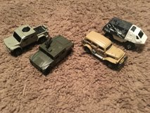 Matchbox Army Cars in Beaufort, South Carolina