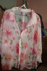 Pink Blouse  sz 24W NEW in Naperville, Illinois