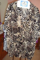 Black & Brown Blouse  sz 24W in Naperville, Illinois