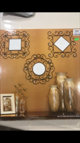 set of three decorative mirrors in Travis AFB, California