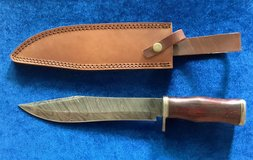 Damascus Knife/Hardwood Handle in Camp Pendleton, California