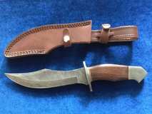 Damascus Knife w/Rosewood Handle in Camp Pendleton, California