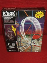 K'NEX Star Shooter Roller Coaster Building Set 434 pc Motorized New in Batavia, Illinois