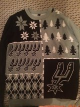 Spurs Christmas Sweater in Lackland AFB, Texas
