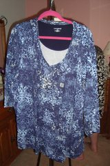 Blue Pullover sz3X  NWt in Naperville, Illinois