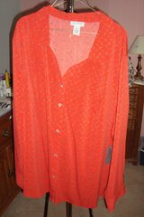 Red Blouse  sz 3X NWT in Naperville, Illinois