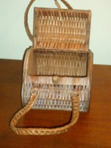 vintage wicker purse in Aurora, Illinois