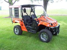 2006 Yamaha Rhino 660 4X4 w/Custom Dog Kennel in Quad Cities, Iowa