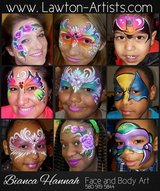 Face painting and balloon twisting in Lawton, Oklahoma