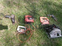 Various Power Tools in Conroe, Texas