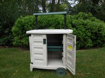 Deck/Patio BBQ storage Cart in Plainfield, Illinois