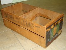vintage whittier orange crate in Bolingbrook, Illinois
