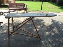 Antique wood ironing board in Perry, Georgia