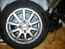 4 winter /snow tires Hankook with alloy rims 175/65R14 82T reduced in Ramstein, Germany