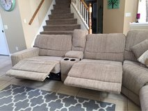 Electric Reclining Sectional (4-piece) in Temecula, California