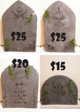 MADE TO ORDER TOMBSTONES! Over the Hill BDay item? Halloween in Westmont, Illinois