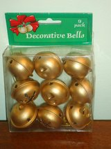 "NIB 1-1/2"" jingle bells in Chicago, Illinois"
