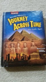 6th Grade Social Studies Text Book Journey Across Time in Westmont, Illinois