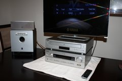 Yamaha 8 channel Stereo Receiver, Multi-Disc CD, DVD Player, Woofer and Central Channel Speaker ... in The Woodlands, Texas