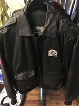 Leather Jacket By Burk's Bay  Large in Fort Knox, Kentucky
