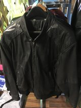 Leather Jacket By C & A Large in Fort Knox, Kentucky
