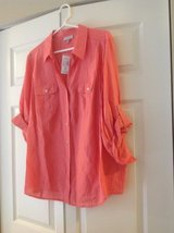 Dress Barn Womens Coral Shirt in Palatine, Illinois