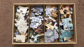 Disney Frozen Puzzles & Box in Fort Benning, Georgia