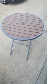Folding Outdoor Table in Fort Benning, Georgia
