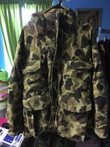 Brown Camouflage Jacket Cabela's Size Large or Ex Large in Fort Knox, Kentucky