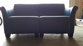 2 blue vinyl couches in Fairfield, California