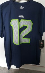 SEATTLE SEAHAWKS Nike 12th Man Fan T Shirt (Adult Large) *** NEW *** in Fort Lewis, Washington