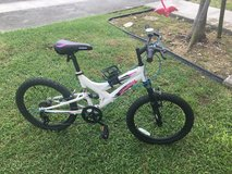 Kids 7-speed bike ages five through 10 in Okinawa, Japan