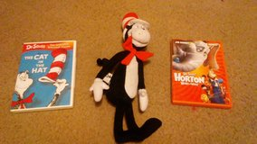 Dr Seuss' 2 movies & Doll in Lawton, Oklahoma