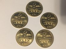 SUPERBOWL XLIX GOLD COINS (NO C.O.A.) limited # available - $10 each in Fort Lewis, Washington