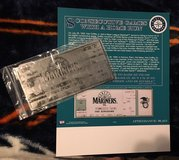 GRIFFEY JR. Metal Memorabilia Ticket of his 8 HR Streak in 1993 *** NEW *** in Fort Lewis, Washington
