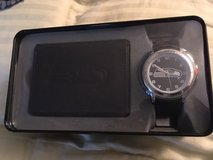 SEATTLE SEAHAWKS Black Trifold Wallet & Watch in Tin Gift Set *** NEW in Fort Lewis, Washington