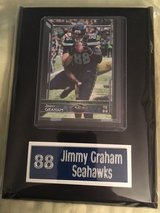 SEATTLE SEAHAWKS 5X7 PLAQUES *** 6 Players to choose from (see pics) *** NEW *** in Fort Lewis, Washington