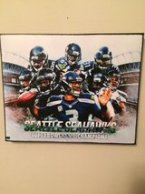 SEATTLE SEAHAWKS SUPERBOWL XLVIII 8X10 CANVAS *** NEW *** in Tacoma, Washington