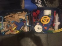 Thomas the train and other toys 200 dollar value in Fort Irwin, California