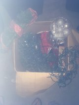 Christmas lights and decor 150 dollar value in Fort Irwin, California