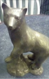 Brass animals in Lawton, Oklahoma