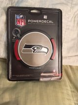 SEATTLE SEAHAWKS Light-Up Power Decal / Night Light Emblem *** NEW *** in Fort Lewis, Washington