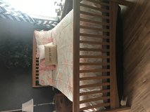 Queen Bed, frame and mattress in Lawton, Oklahoma