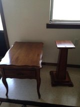 End Table and Plant Stand in Fort Leonard Wood, Missouri