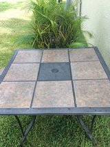 Ceramic Top Patio table--brand new in Okinawa, Japan