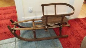 Large Sled with baby seat in Wiesbaden, GE