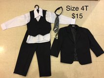 4T vest suit, tie and jacket in Okinawa, Japan