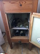 Antique Ice Chest in Ramstein, Germany