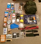 84 Piece Outdoor Survival Kit with Backpack. in Fort Benning, Georgia